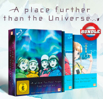 A place further than the Universe - Gesamtedition: Episode 1-13 [Blu-ray]
