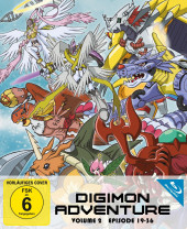 Digimon Adventure - Staffel 1.2: Episode 19-36 [Blu-ray]