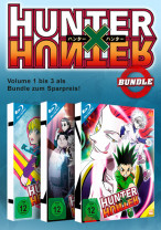 HUNTERxHUNTER - Bundle Nr. 1: Vol. 1-3: Episode 01-36 [Blu-ray]