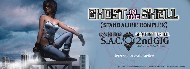 Teaser Ghost in the Shell - S.A.C.