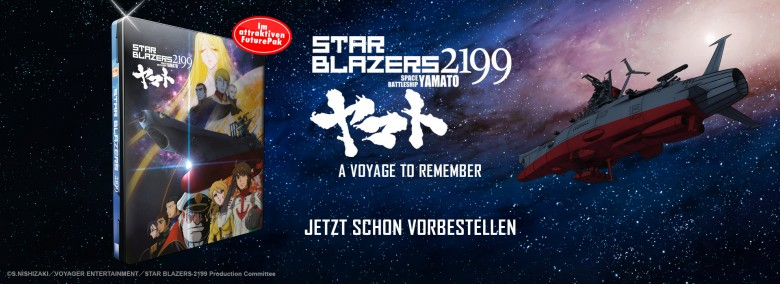 Teaser Star Blazers Movie