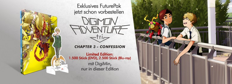 Teaser Digimon Adventure tri. Chapter 3 - Confession