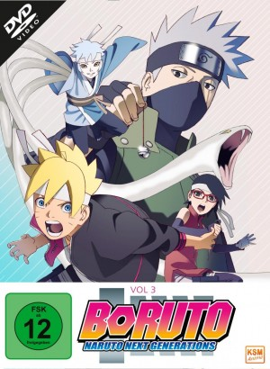 Boruto - Naruto Next Generation - Volume 3: Episode 33-50 [DVD]