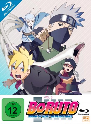 Boruto - Naruto Next Generation - Volume 3: Episode 33-50 [Blu-ray]