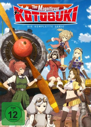 The Magnificent Kotobuki - Gesamtedition: Episode 01-12 [DVD]