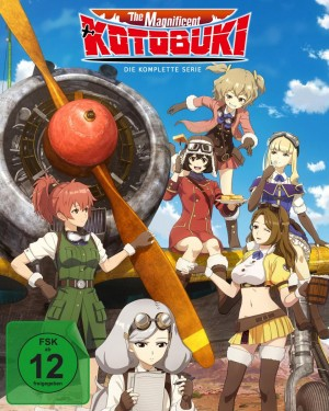 The Magnificent Kotobuki - Gesamtedition: Episode 01-12 [Blu-ray]