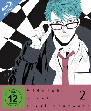 Midnight Occult Civil Servants - Volume 2: Episode 05-08 [Blu-ray]