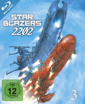 Star Blazers 2202 - Space Battleship Yamato - Volume 3: Episode 12-16 [Blu-ray]