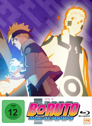 Boruto: Naruto Next Generations - Volume 4: Episode 51-70 [Blu-ray]