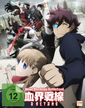 Blood Blockade Battlefront & Beyond - Volume 1: Episode 01-04 [Blu-ray] [Limited Edition]