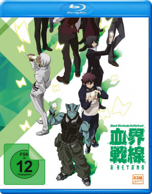 Blood Blockade Battlefront & Beyond - Volume 2: Episode 05-08 [Blu-ray] [Limited Edition]