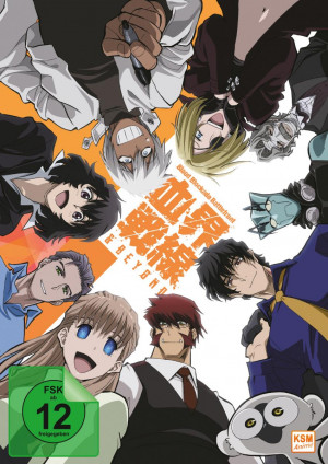 Blood Blockade Battlefront & Beyond - Volume 3: Episode 09-12 [DVD] [Limited Edition]