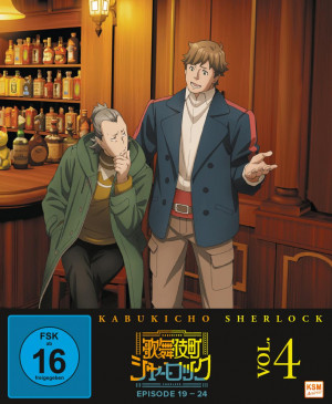Kabukicho Sherlock - Volume 4: Episode 19-24 [Blu-ray]