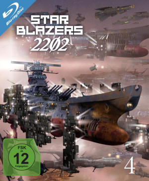 Star Blazers 2202 - Space Ship Yamato - Volume 4: Episode 17-21 [Blu-ray]