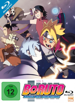 Boruto: Naruto Next Generations - Volume 5: Episode 71-92 [Blu-ray]