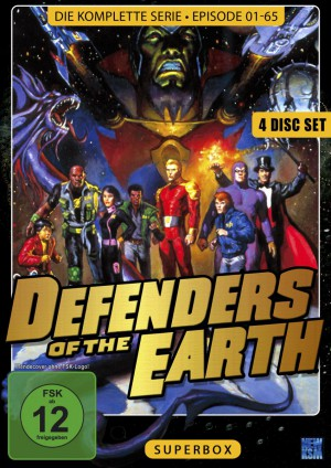 Defenders of the Earth - Superbox - New Edition (4 Disc Set)