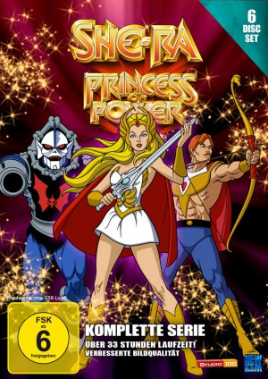 She-Ra -Princess of Power - Gesamtbox [DVD]