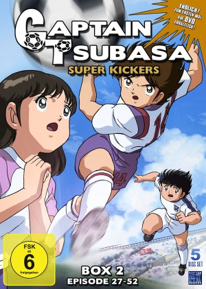Captain Tsubasa: Superkickers 2006 - Box 2: Episoden 27-52 [DVD]