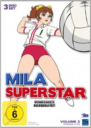 Mila Superstar - Volume 2: Episode 31-55 [DVD]