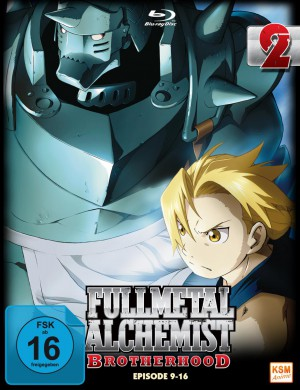 Fullmetal Alchemist: Brotherhood - Volume 2 Folge 09-16 (Limited Edition) [Blu-ray]