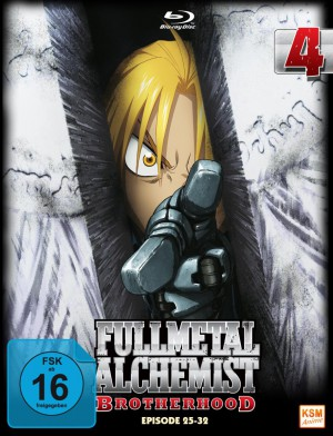 Fullmetal Alchemist: Brotherhood - Volume 4 Folge 25-32 (Limited Edition) [Blu-ray]