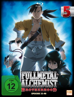 Fullmetal Alchemist: Brotherhood - Volume 5 Folge 33-40 (Limited Edition) [Blu-ray]
