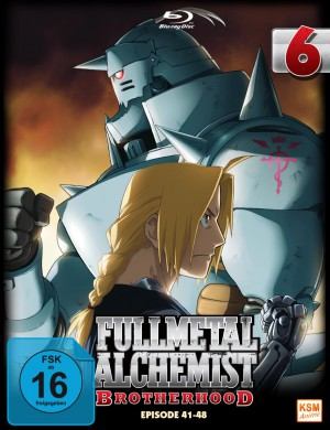 Fullmetal Alchemist: Brotherhood - Volume 6 Folge 41-48 (Limited Edition) [Blu-ray]