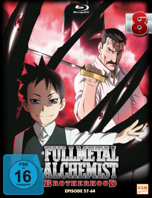 Fullmetal Alchemist: Brotherhood - Volume 8 Folge 57-64 (Limited Edition) [Blu-ray]