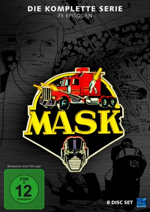 M.A.S.K. - Gesamtedition (8 Disc Set) [DVD]