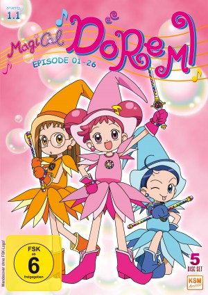 Magical Doremi: Staffel 1.1 Episode 01-26