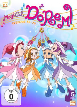 Magical Doremi - Staffel 2.1: Episode 52-76 [DVD]