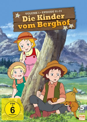 Die Kinder vom Berghof - Volume 1 - Episode 01-24 im 5 Disc Set
