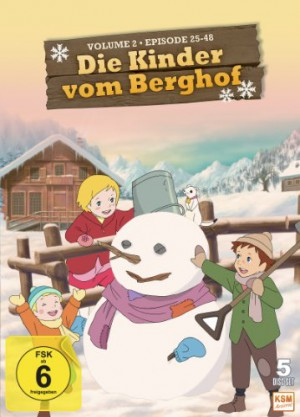 Die Kinder vom Berghof - Volume 2 - Episode 25-48 im 5 Disc Set