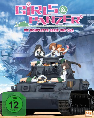 Girls & Panzer - Volume 1: Episode 01-04 im Sammelschuber [Limited Edition][Blu-ray]