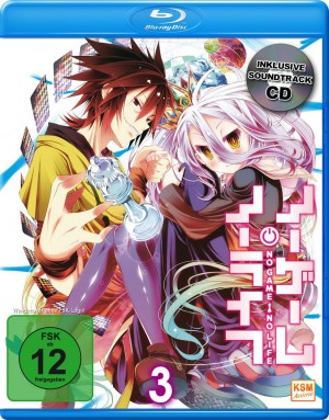 No Game No Life - Episode 09-12  (Limited Edition) [Blu-ray]