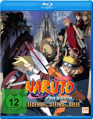 Naruto - The Movie 2: Die Legende des Steins von Gelel [Blu-ray]