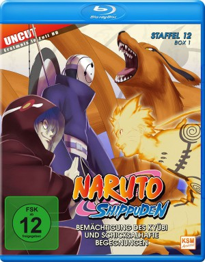 Naruto Shippuden - Staffel 12 - Box 1 (Episoden 463-480 - Uncut & Erstmals in Full HD!) [Blu-ray]