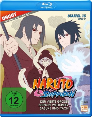 Naruto Shippuden - Staffel 15 Box 2: Episode 555-568 (uncut) [Blu-ray]