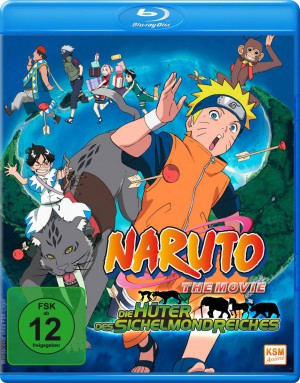 Naruto - The Movie 3: Die Hüter des Sichelmondreiches [Blu-ray]