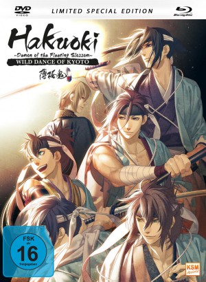 Hakuoki - The Movie 1: Demon of the Fleeting Blossom - Wild Dance of Kyoto [Mediabook inkl. DVD + Blu-ray]