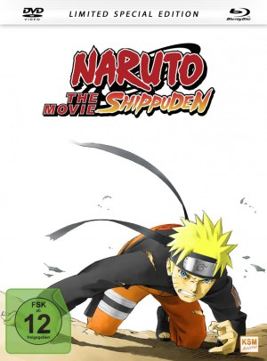 Naruto Shippuden - The Movie - Mediabook - Limited Edition [DVD + Blu-ray]