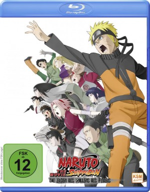 Naruto Shippuden - The Movie 3: Die Erben des Willens des Feuers (2009) [Blu-ray]