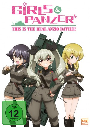 Girls und Panzer - This is the Real Anzio Battle! - OVA
