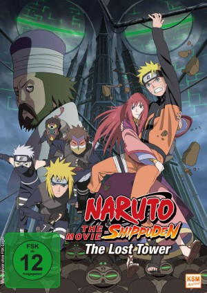 Naruto Shippuden - The Movie 4: The Lost Tower [DVD]