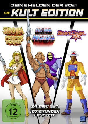 He-Man Masters of the Universe + She-Ra + BraveStarr - Die 80er Jahre Kult Edition –Limitiert (24 Disc Set)
