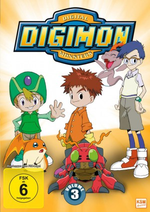 Digimon Adventure - Volume 3 Episode 37-54
