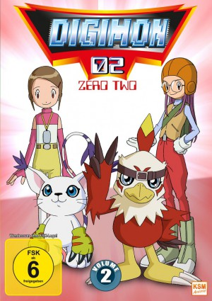Digimon Adventure 02 - Volume 2 Episode 18-34