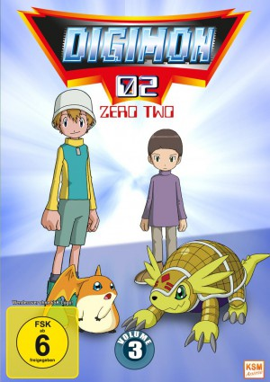Digimon Adventure 02 - Volume 3 Episode 35-50
