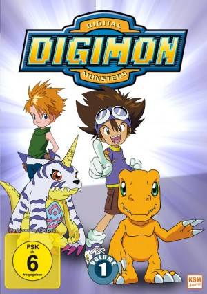 Digimon Adventure - Staffel 1 - Volume 1: Episode 01-18