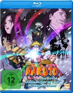 Naruto - The Movie - Geheimmission im Land des ewigen Schnees [Blu-ray]